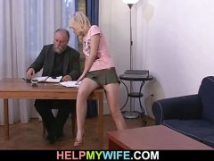 Young wife wants young cock