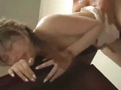 Excellent Room Service Blowjob And Gagging