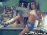 Blond Strip and Piss