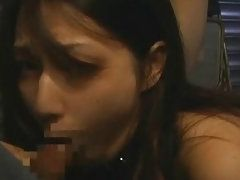 Hot and Sexy Japanese Slaves Sucking Monster Dicks