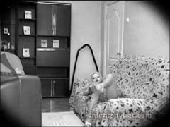 Night vision spy on girl