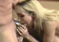 Cleaning maid with BIG tits loves nipples to be sucked