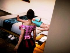 Youri 18 Gets Lesson From Maid