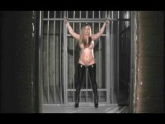 Horny Woman in Jail