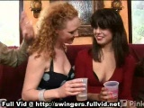 Swingers In Oral Threesome