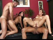 Awesome gangbang