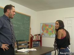 Gia Steel & Alec Knight in Naughty Book Worms