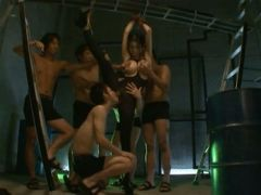 Japanese groupsex