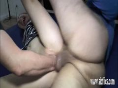 Double Fisting And Fucking Her Loose Teen Pussy