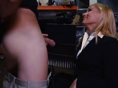MILF Holly Gets Plowed At The Pawn Shop