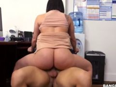 fuck office- sexy latina begs for her j