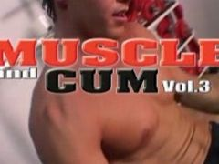 Muscle and cum three
