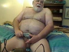 Grandpa stroke on webcam 5