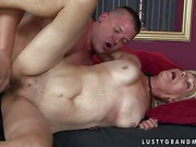 Brad Russel is a horny aged blonde woman with wet