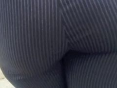 Co Worker Naomi's sexy fat white ass