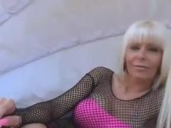 Hot Blond Dom Smoking