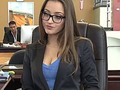 Dani Daniels at the Office