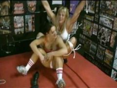 Wrestler Tickled