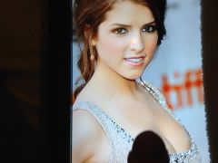 Cumming over Anna Kendrick - Cum Tribute #1