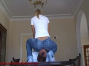 PrincessNikkiCruel - jeansittingclip HD 720p