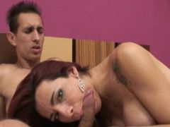 Spicy Patricia inside Deep Throat Cock Sucking