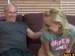 Alissa Snow fucks grandpa & JWties