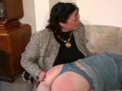 Granny Spanks And Straps Young Man
