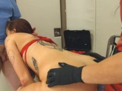 Submissive BDSM sex with chocolatehole whore