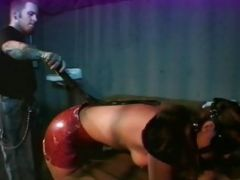 A Flat Girl Gets Dirty With A Teenage Tramp