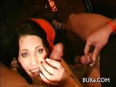Lesbians Gets Group Pissing