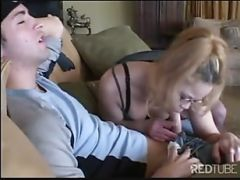 Blond Stockings MILF Vaginal Satisfaction