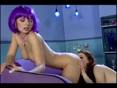Kellemarie and Justine sci-fi