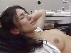 Hot Patient Sibel Kekilli Gets Special Injection From Doctor