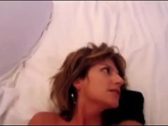 Amateur Horny Couple Fucking In Shower With GF