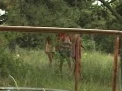 Lesbian outdoor activites - Julia Reaves