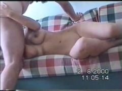 Busty mexican sex on sofa