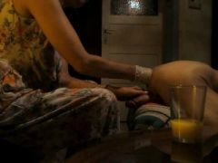 wife gives a prostate massage and FF to hubby's hungry hole