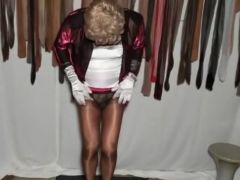 Sexyputa in seams nylons