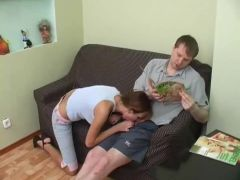 Dilettante breasty hotty creampied
