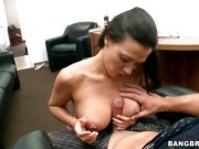 Awesome Rachel Starr gives this dick a titty fuck