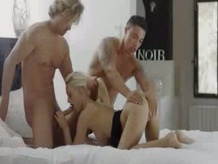 brutally hardcore Gang bang Three Some