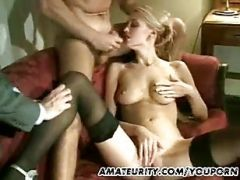Her Boss And Her Her Husband Fuck Her