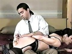 Women Get Bent Over Spanked And Played With