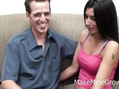 Nikki Daniels and Chad having oral sex