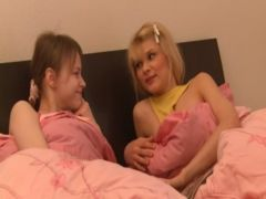Beata and Loly russians share one dick