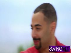 Swingers swapping partners in reality show
