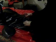 gas mask rubber domination