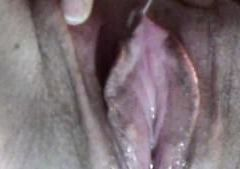 A close up look at my wet pussy and real orgasm