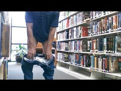 public nudity at library3