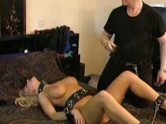Sizzling Brittany Andrews delights in pain